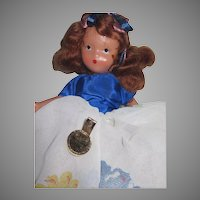 197 November Socket Storybook Doll w/box Free P&I US Buyers