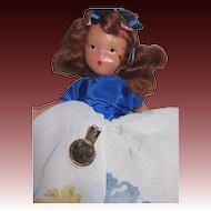197 November Socket Storybook Doll w/box Free P&I US Buyers