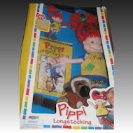 Omega Pippi Longstocings In Box Doll Keychain Mr, Nilsson Free P&I US Buyers
