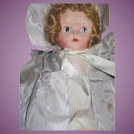 "Lovely 21"" Musical Cloth tagged Richard Kuegar doll Free P&I US Buyers!"