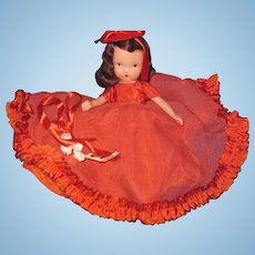 Bisque Nancy Ann Storybook doll Queen Of Hearts free P&I US Buyers