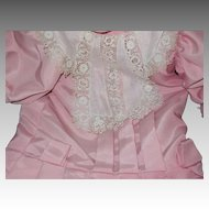 Lovely drop waist dress , slip, pantaloons for your China or Bisque big girl Doll Free P&I US Buyers