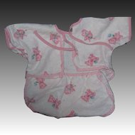 Cute One piece Romper fr Dy Dee Baby doll and Friends Teddy bear design Free P&I US Buyers