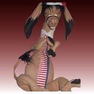 "Rare 40""Annalee Mobilitee  Political Donkey Free P&I US Buyers"