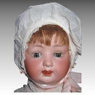 "Large 20"" Character Baby Huebach Kopelsdorf D R G M Free P&I US Buyers"