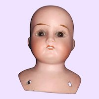 """4"""" German Bisque Mabel doll Head Free P&I US Buyers"""