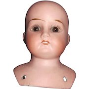 "4"" German Bisque Mabel doll Head Free P&I US Buyers"