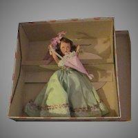 Nancy Ann Story book Doll MIB 190 April Doll Free P&I US Buyers