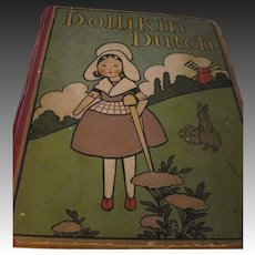 Scarce Dollikin Dutch & How She Met Piet and Nella 12 plates Book Free P&I US Buyrs