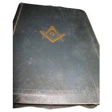 1940 Masonic Old & New Testaments King Solomons in Masonry Bible Free P&I US Buyers
