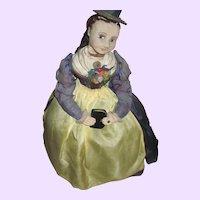 Exquisite Cloth Tea Cozy Doll Else Hecht Munich Art Movement Free P&I US Buyer
