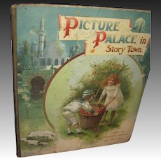 1800's Picture Palace in Story Town Beautiful colored Illus Children Free P&I US Buyers