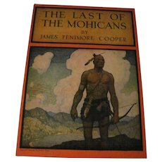 1946 Last of Mohicans Illus by N.C. Wyeth  Book Free P&I US Buyers