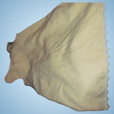 Full Wool Slip for Large China or Bisque doll or Child FreeP&I US Buyers!