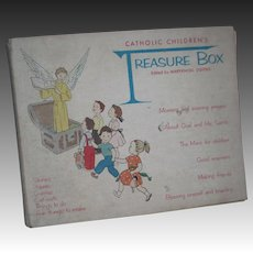 1959 30--39 Catholic Children's Treasure Box Marynoll Sisters Free P&I US Buyers