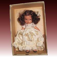 No 132 When She was Good Nancy Ann Story Book doll Silver Box JL Free PI US Buyers