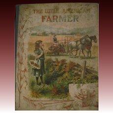 1908 Little American Farmer Percy Fitzhugh Illus Free P&I US Buyers