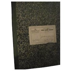 1919 Jackson townnship Ohio Grade school Register Free P&I US Buyers