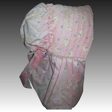 Lovely Vintage Sunbonnet for Lady or Child Free P&I US Buyers!