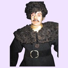 "18"" Artist Dr Zhivago Doll Free P&I US Buyers !"