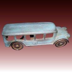 1920's Cast Iron Blue Touring Car Free P&I US Buyers!
