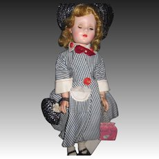 "1955 Minty 18"" American Character Sweet Sue Doll Free P&I US Buyers"