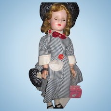 """1955 Minty 18"""" American Character Sweet Sue Doll Free P&I US Buyers"""