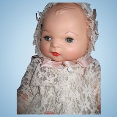 """14"""" Beautiful Baby doll in Christening Dress Free P&I US Buyers"""