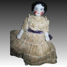"Beautiful 6"" Frozen Charlotte for doll house Free P&I US Buyers"