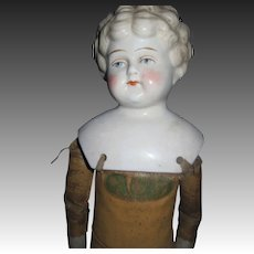 "Wondeful 17"" Blonde China Doll Floradora Body Free P&I US Buyers"