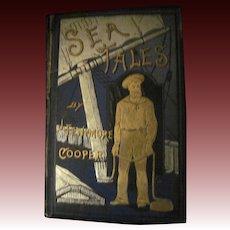 Rare 1800's Sea Tales James Fenmore Cooper book Free P&I US Buyers