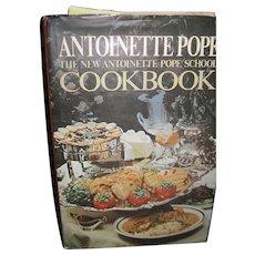1973 Antoinette Pope The new AP School Cookbook Free P&I US Buyers