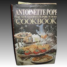 1973 Antoinette Pope The new AP School Cookbook Free P&I US Buyers