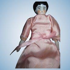 "Pretty 7"" China Doll House Doll."
