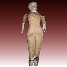 "7"" Blonde China Doll house doll Free P&I US Buyers"