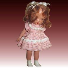 Box No. 80 Red hair Margie Ann Nancy Ann Story Book Doll white boot Free P&I US Buyer