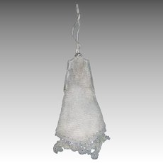 Lovely Vintage Silver mesh bag Free P&I US Buyers