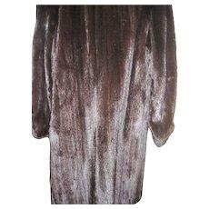 Amazing Vintage Blackglama Dark Black full length mink coat  Free P&I US Buyers