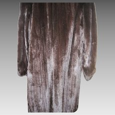 Amazing Vintage Blackglama Dark Black full length mink coat  Free P&I US Buyers