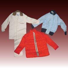 Ken doll PJ's & Jackets   Free P&I US Buyers