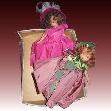 2 Bisque Nancy Ann Story Book dolls Seasons Free P&I US Buyers