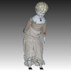 """16"""" Blonde China Doll with Jewel Free P&I US Buyers"""