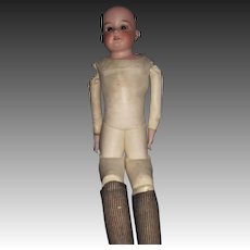 """23"""" AM 370 Doll with nice leather Body.  Free P&I US Buyers"""