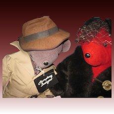 VIB North American Bear Humphry Beargart and Lauren Bearcall  Free P&I US Buyers