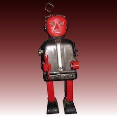 "50's Vintge 8"" Nomura  Zoomer Battery Robot  needs work Free P&I US Buyers"