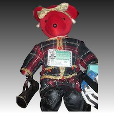 VIB Holiday Shopper LTD North American Bear  Free P&I US Buyers