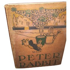 1908 Rare The Tale of Peter Rabbit Potter Free P&I US Buyers