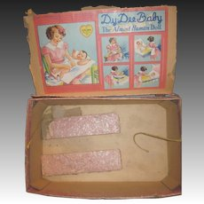 Box for Vintage Effanbee Dy-Dee Doll Baby Free P&I US Buyers