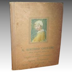 Birthday Greeting & Other Songs From th book of Katherine' Fiends Frank Damrosch Free P&I US Buyers