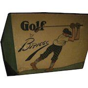 Rare 1916 Golf Cartoons by Briggs